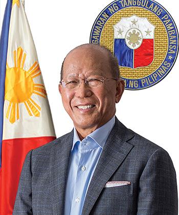 Delfin N Lorenzana, Secretary of National Defence, Philippines
