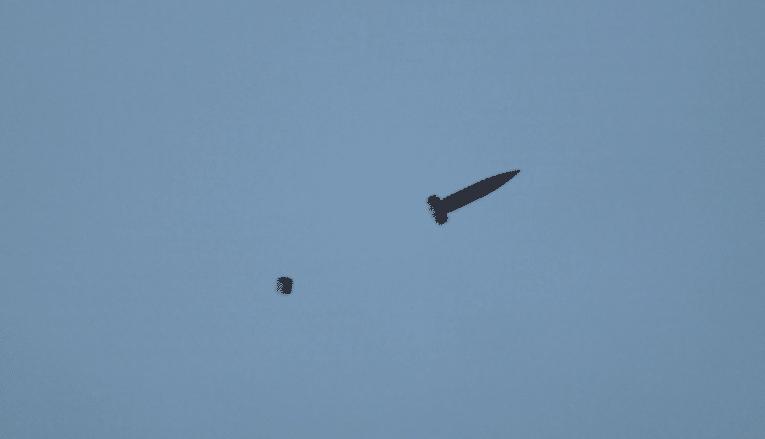 First Successful Piloted Firing for Katana 155mm Artillery Shell