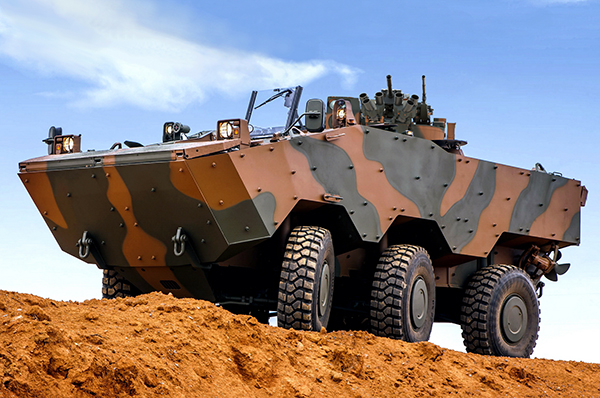 Philippine Army to Get New Wheeled Armoured Personnel Carriers