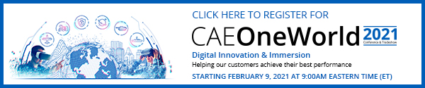Registration Opens for CAE OneWorld 2021 Virtual Conference