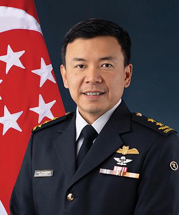 Major General Kelvin Khong Boon Leong, Chief of RSAF