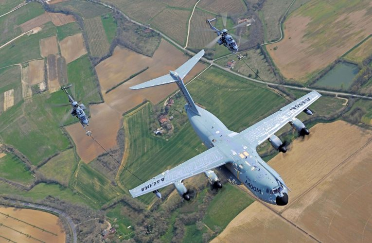 Airbus A400M Conducts Major Helicopter Refuelling Certification Campaign