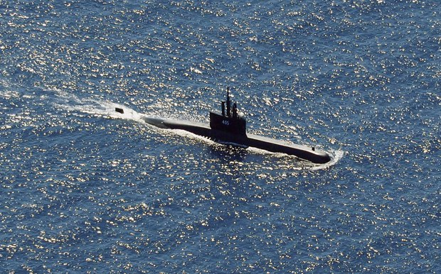 Indonesian Submarine Goes Missing off Bali during Drills