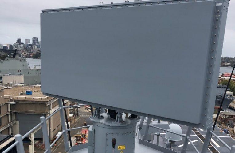 HENSOLDT Overhauls HMAS Canberra's Combat IFF System