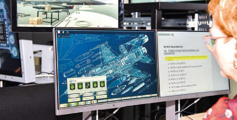HAVELSAN Develops Troubleshooting Training Simulator for F-16 Fighters