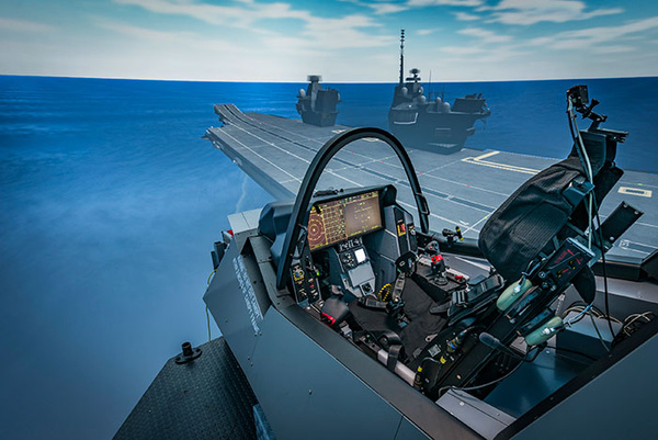 UK's Carrier Strike Group – Supporting Training Needs Whilst On Deployment