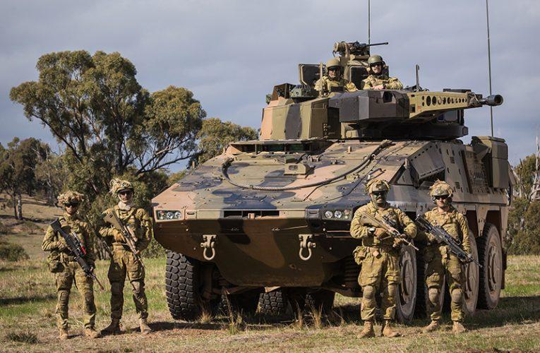 Rheinmetall Delivers First 25 Boxer to Australian Army