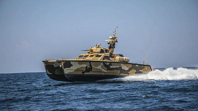 World First Tank Boat A Success in Sea, Weapons Trials