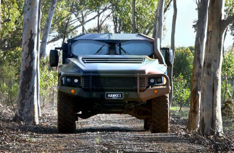 Australian Hawkei Reaches Initial Operational Capability
