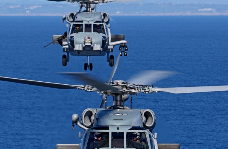 Indian Navy Gets First Batch of MH-60 Romeo Seahawks
