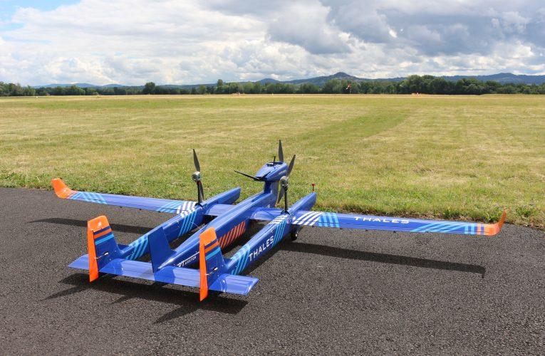 Thales Debuts Modular Long-Range Light UAS