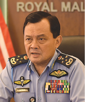General Tan Sri Ackbal Abdul Samad, Chief of Air Force, Malaysia