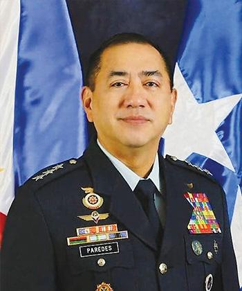Lieutenant General Allen T Paredes, Commanding General, Philippine Air Force