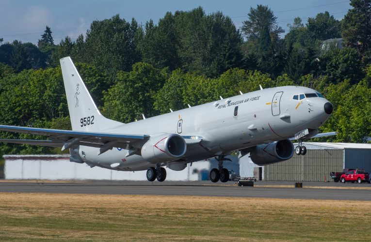 Norway's First P-8A Poseidon Performs Maiden Flight