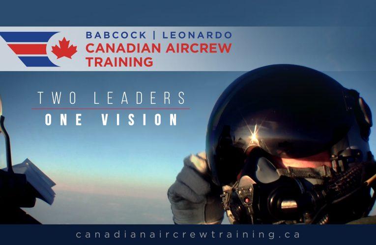 Babcock. Leonardo Collaborate to Support Canada's Future Aircrew Training (FAcT) Programme