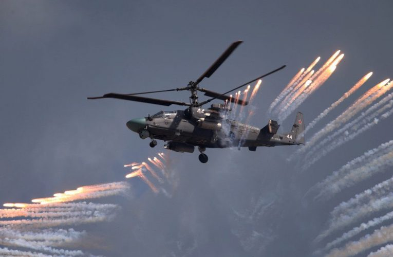 Russian Helicopter's First Contract for Upgraded Ka-52M Helicopters