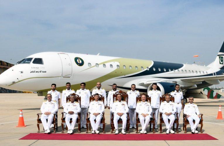 Pakistan Navy Inducts First Long-Range Maritime Patrol Jet