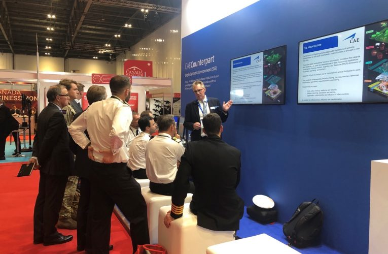 CAE Exhibits Its Own Counterpart SSE at DSEI
