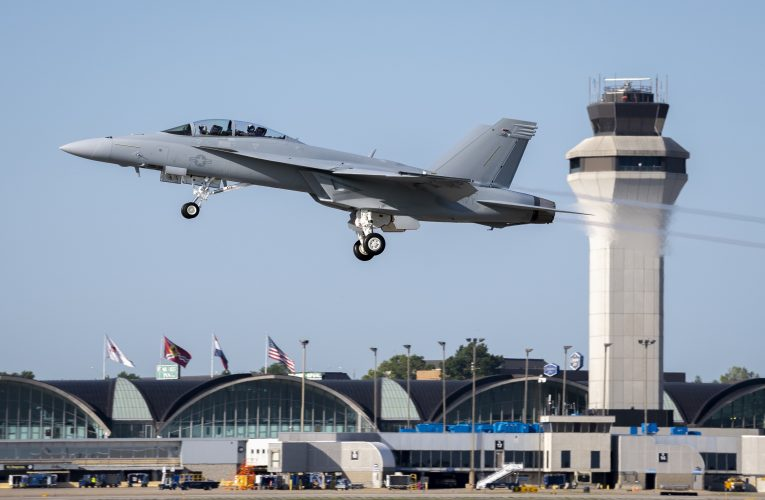 First Operational Block III F/A-18 Super Hornet for US Navy