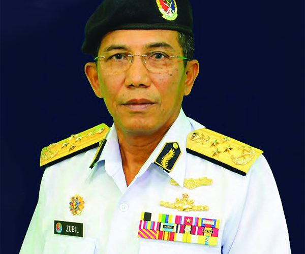 Admiral (Maritime) Datuk Mohd Zubil Mat Som, Director-General, MMEA