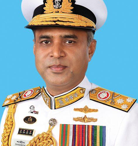 Admiral M Shaheen Iqbal, Chief of Naval Staff, Bangladesh