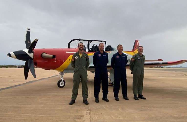 Spanish Air Force's First PC-21