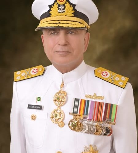 New Vice Chief of Pakistan Navy
