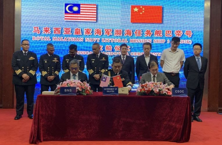 Malaysia Takes Delivery of Third Littoral Mission Ship
