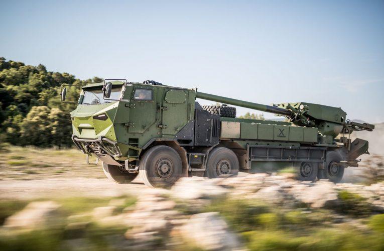 Nexter Bags Major CAESAR 8×8 Mobile Artillery Gun Order