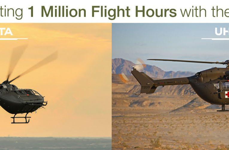 Airbus Helicopters UH-72 Lakota fleet Topped 1 Million Flight-Hour Mark
